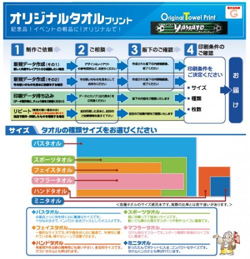 【価格表G】オリジナルタオルプリント2016-11